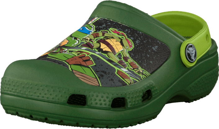 44b059a22f1 Buy Crocs CC TMNT Clog Seaweed/Volt Green green Shoes Online ...