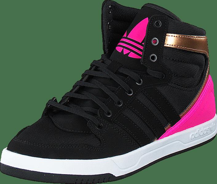 best sneakers 1f4c2 72826 adidas Originals - Court Attitude K Core BlackShock Pink S16