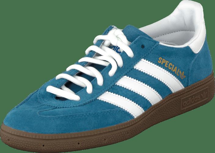 ADIDAS ORIGINALS HANDBALL Spezial Schuhe Echtleder Sneaker Turnschuhe Hellblau