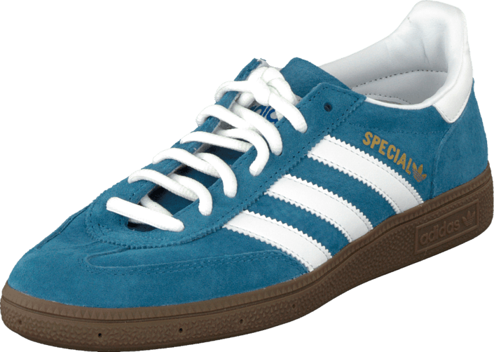 b6e9ce5fb5 Buy adidas Originals Handball Spezial Blue/Running White turquoise ...