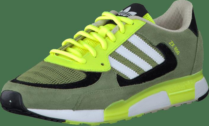 premium selection 6534d 049b6 adidas Originals - ZX 850 Green White Electricity