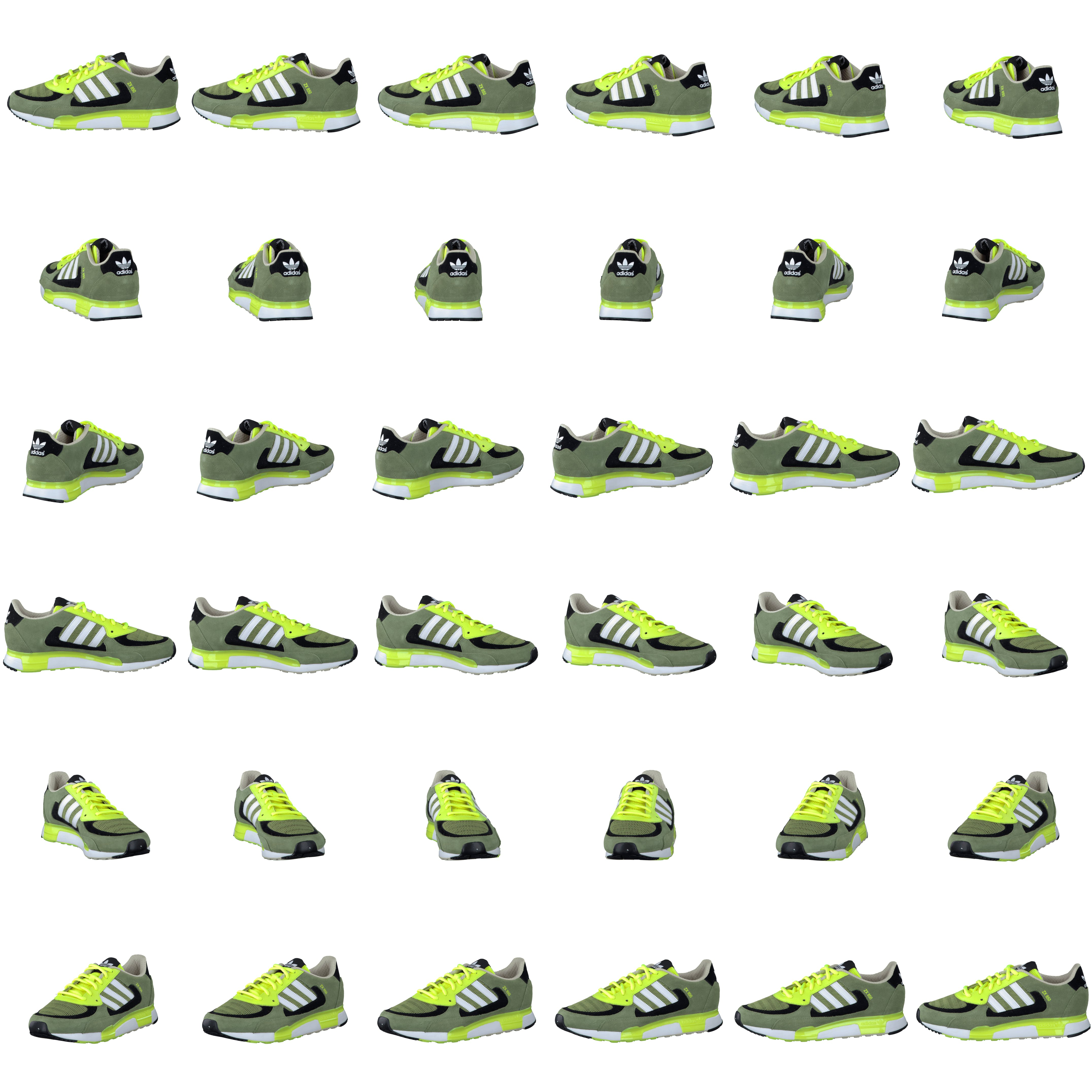 best sneakers 132d5 61822 Buy adidas Originals ZX 850 Green White Electricity green Shoes Online    FOOTWAY.co.uk