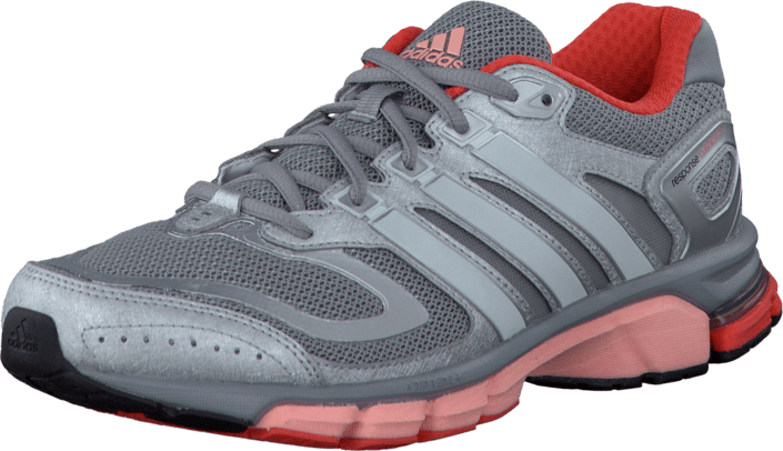 adidas Sport Performance - Response Cushion 22 Mid Grey Pearl Met Glow  Orange 4c6f8db913b