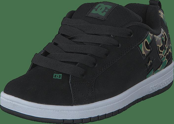 Kjøp DC Shoes Court Graffik SE Shoe BlackCamo sorte Sko