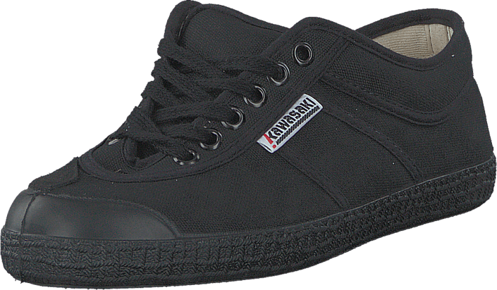 2d4c36f9 Köp Kawasaki Basic Shoe All over black svarta Skor Online | FOOTWAY.se