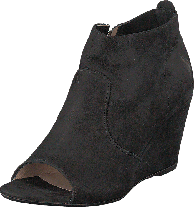 A Pair - 7608 Open Toe Black