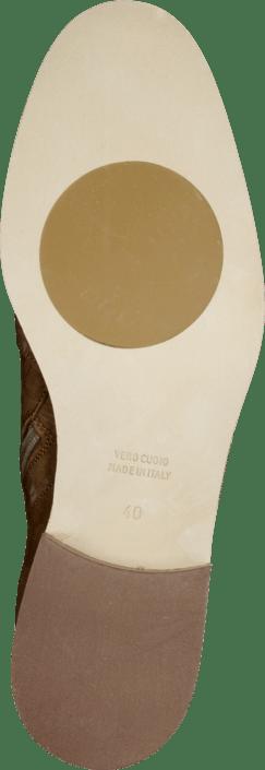 A Pair - 7611 Flat Bootie Light Brown