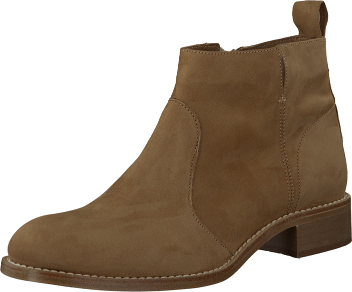 A Sko Online Kjøp Brune Boots Brown Flat 7611 Bootie Pair Light O8q81dx7