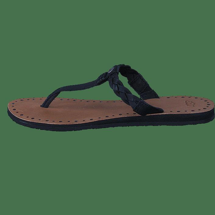 Bria Kjøp Black W Ugg Sandaler Brune Online Sko Tøfler Og vERES