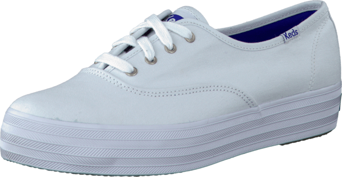 213ba3648f2 Buy Keds Triple Core White Canvas white Shoes Online
