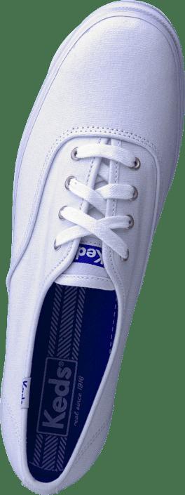 Kjøp Online Keds Core Sko Canvas White Triple Sneakers Hvite r4BqPx0rw