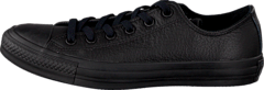 Chuck Taylor All Star Ox Leather Black Monochrome