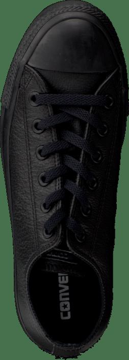 Converse - Chuck Taylor All Star Ox Leather Black Monochrome