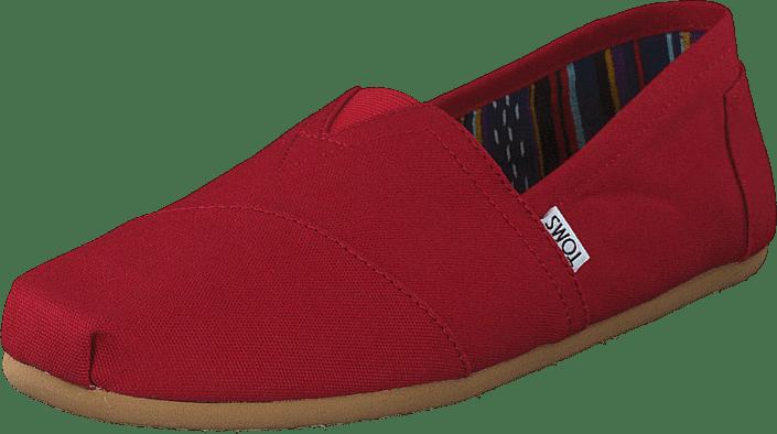 Toms - Men's Classics Red Canvas