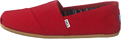 Men's Classics Red Canvas
