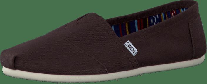 d9d76da3d763 Buy Toms Men s Classics Chocolate Canvas brown Shoes Online ...