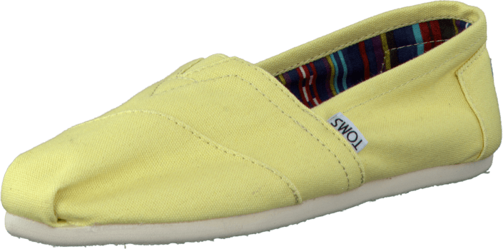 Women's Classics Yellow Canvas
