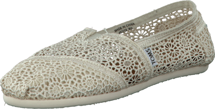Women's Classics Crochet Natural Morocco