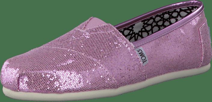 Köp Toms Women s Glitter Pink rosa Skor Online  6112b388b5479