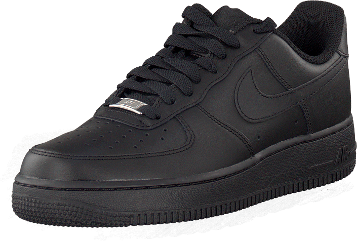 new concept 540f9 161f0 Köp Nike Air Force 1 Low Black gråa Skor Online | FOOTWAY.se