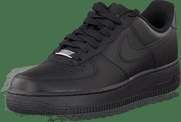 Köp Nike Air Force 1 Low Black Skor Online   FOOTWAY.se