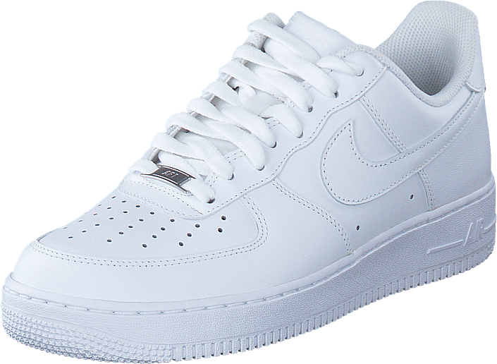 promo code 7390e 73056 Köp Nike Air Force 1 Low White vita Skor Online | FOOTWAY.se