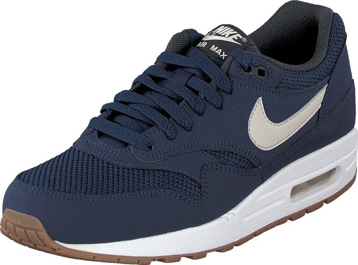 san francisco 96f6e 7d1db Nike - Air Max 1 Essential Midnight NavyLight Bone-White