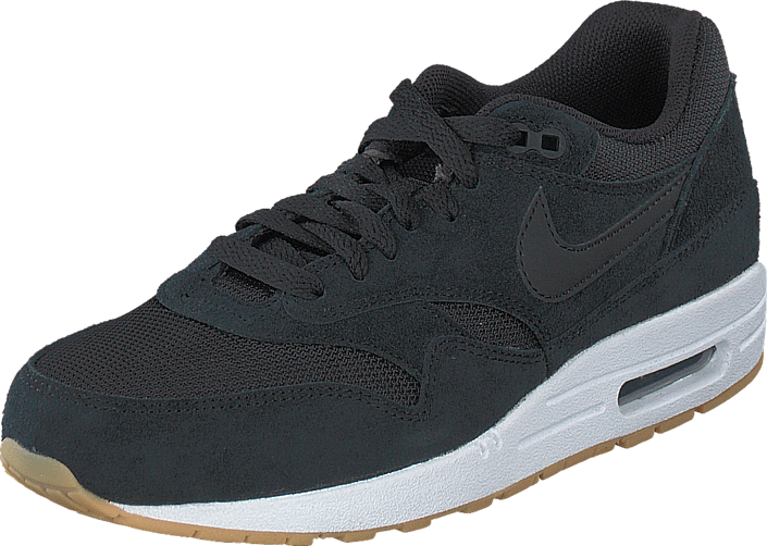 8b0356fa96 Buy Nike Air Max 1 Essential Black/Black-White-Gum Yellow black ...