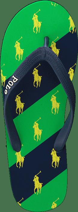 Amino Stripe Navy / Green