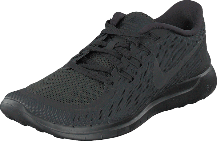 cb22290fc79e7 Buy Nike Nike Free 5.0 Black Black-Anthracite black Shoes Online ...