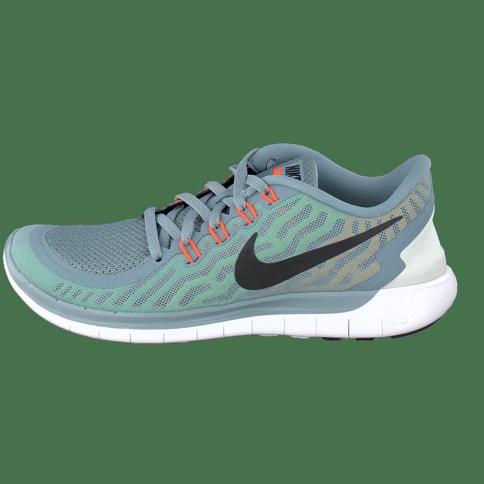 Köp nu Dam Nike Free 5.0+ Wolf Grå Rosa Force vit Skor