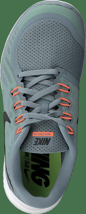 86a8a5b4a73 Köp Nike Nike Free 5.0 Dove Grey/Black Electricgrn turkosa Skor ...