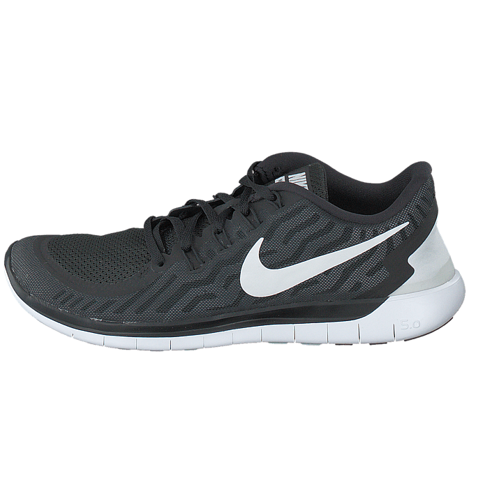 Nike Free 5.0 BlackWhite Dark Grey Cl Grey
