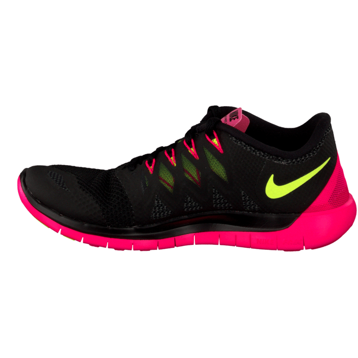 competitive price d079e 9ce29 Köp Nike Wmns Nike Free 5.0 Black Volt-Hyper Pink-Anthrct svarta Skor  Online   FOOTWAY.se