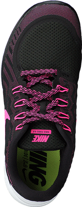 designer fashion 26ba0 39bb4 Nike - Wmns Nike Free 5.0 Black Pink Pow-Pnk Fl-Pnk Glw