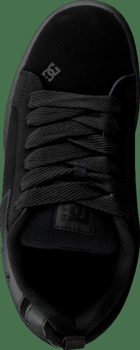 9e128c2812f Köp DC Shoes Court Graffik Shoe Black/Black svarta Skor Online ...