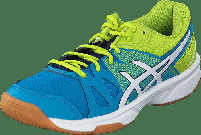 chaussures de sport 630db ee66d Gel Upcourt Gs Methyl Blue/White/Lime