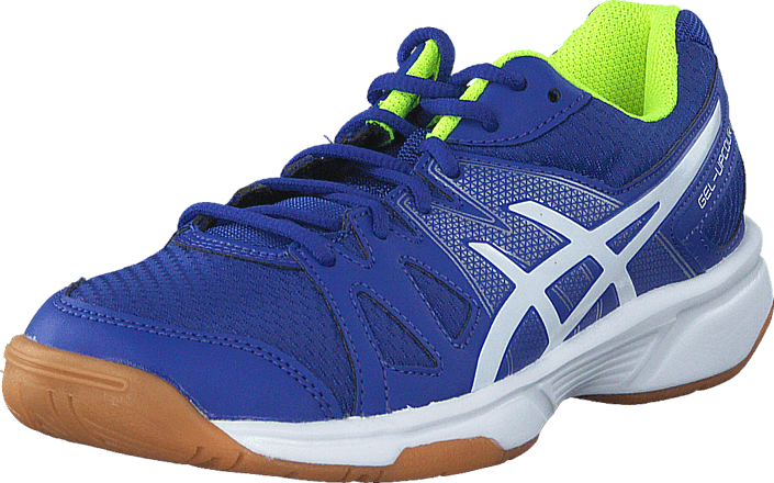 Bluewhitesafety Gs Schuhe Asics Yellow Gel Blaue Upcourt tqCCw6xO