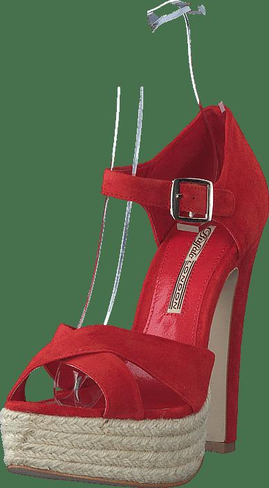Buffalo Sko 880 Heels Online Røde Kjøp 21549ch 6w8q8