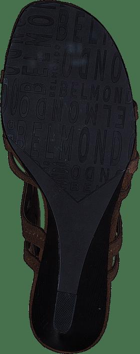 Online Sko Kjøp Brune Belmondo Camoscio Heels wqZOpS