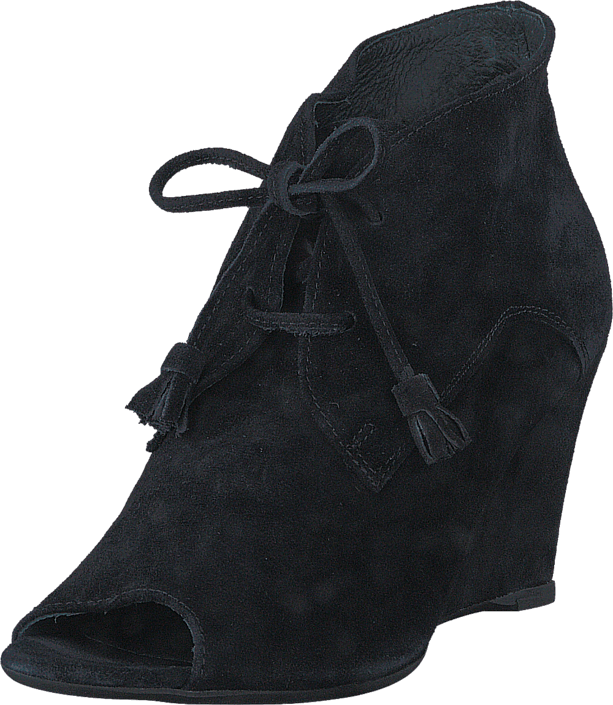 skor Shi Bar Wedge svarta Skor Online
