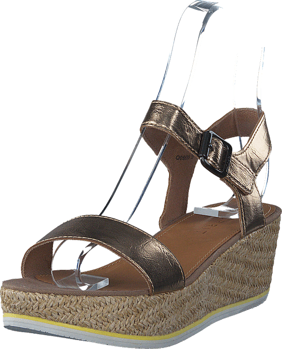 Esprit Tipsy Metallic Sandal bruna Skor Online
