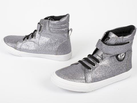 37ce301bf39 Køb Petit by Sofie Schnoor Glitter Sneakers grå Sko Online   FOOTWAY.dk