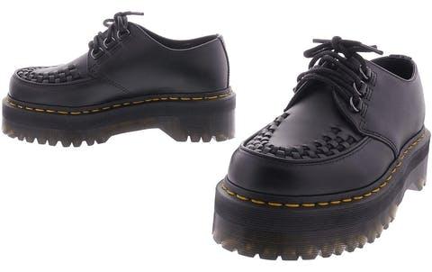 Acheter Dr Martens Ashley Creeper Grises Chaussures Online   FOOTWAY.fr 22c5c015e16a