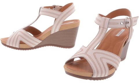 bd7ab443fc0 Buy Geox D New Roxy B - Milk Brown Shoes Online