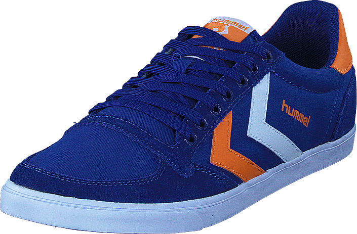 0d00b5a8 Buy Hummel Slimmer Stadil Low blue Shoes Online | FOOTWAY.co.uk