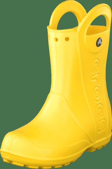 387a4b57412475 Buy Crocs Handle It rain Boot Kids yellow Shoes Online