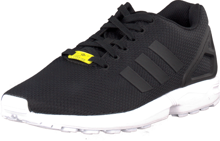 reputable site 714f9 10bc3 Zx Flux Black/Black/White