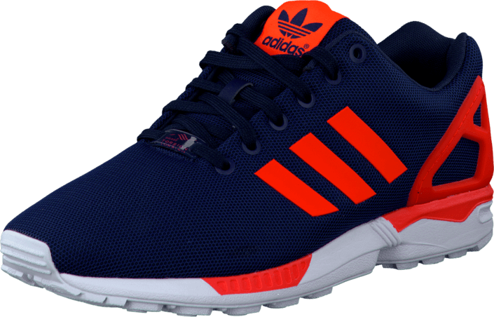ff31e93a7e1bb Buy adidas Originals Zx Flux Dark Blue Solar Red Ftwr White blue ...