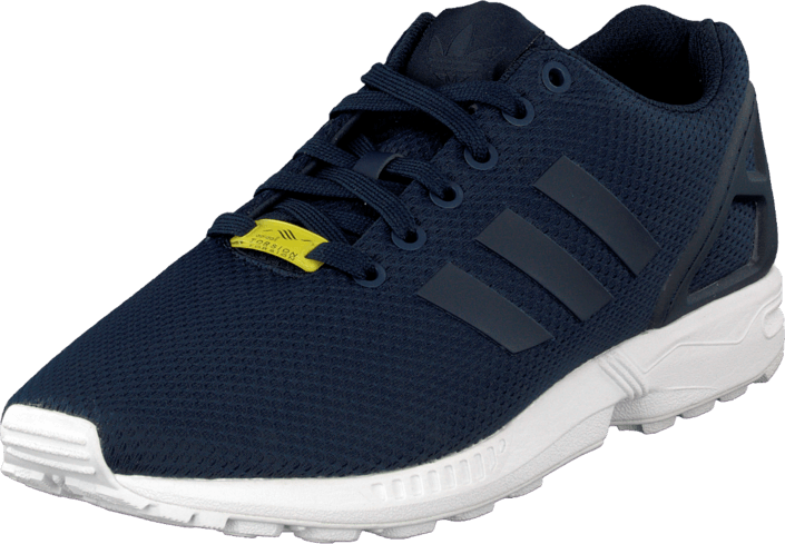 the best attitude 37c0c a374c Zx Flux New Navy/New Navy/White